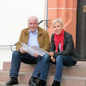 Bettina Müller und Walter Strauch