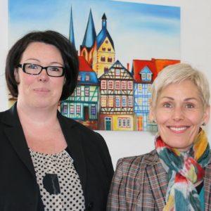 Susanne Simmler und Bettina Müller