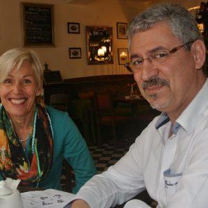 Bettina Müller und Dr. Udo Stern