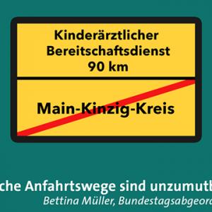 """Fast 90 Kilometer Anfahrtsweg sind unzumutbar"""