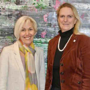 Bettina Müller und Stephanie Becker-Bösch