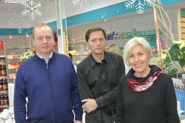ie Apotheker Thomas Löhner aus Hirzenhain und Jan Ott aus Ortenberg