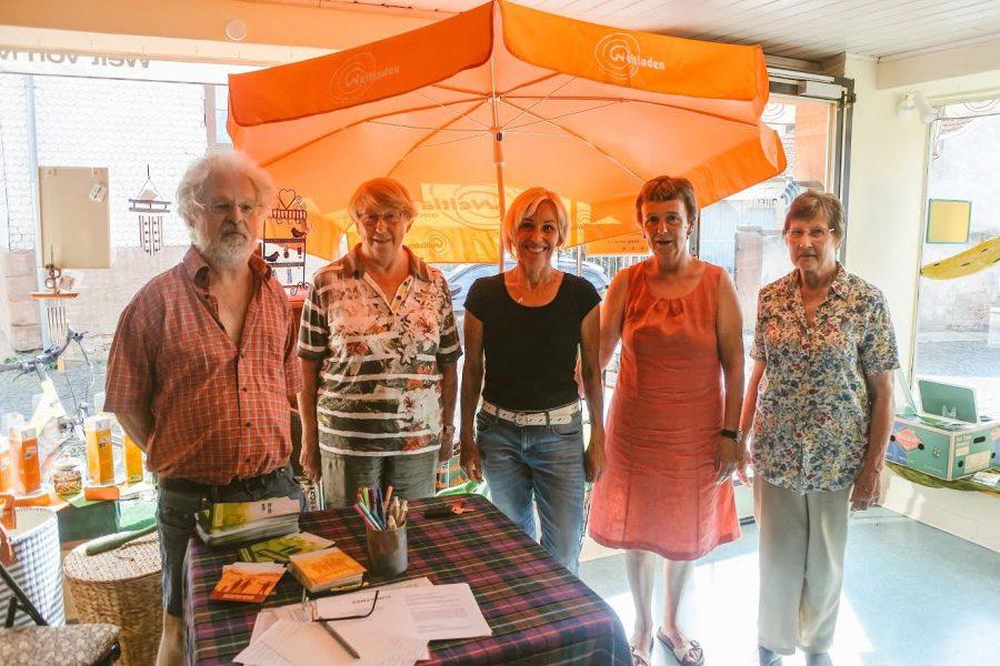 Besuch des Eine-Welt-Ladens in Gelnhausen-Hailer