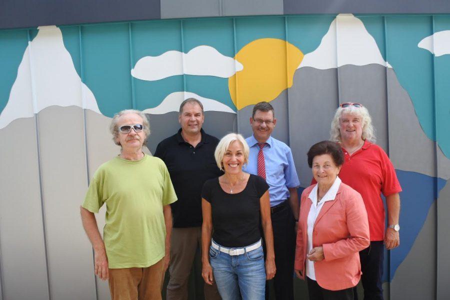 Bettina Müller besucht mit Bürgermeister Krätschmer und der SPD Glauburg den Betrieb von Udo Kraft