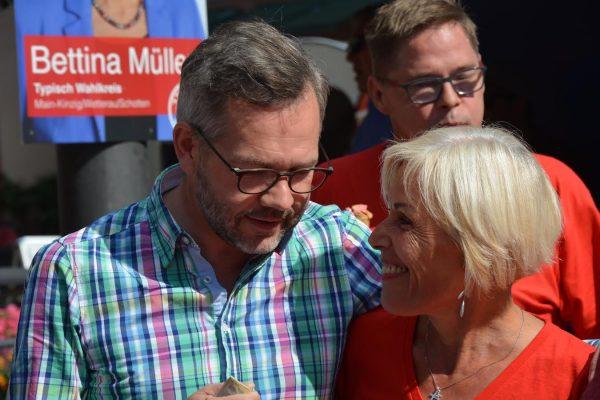 Michael Roth und Bettina Müller